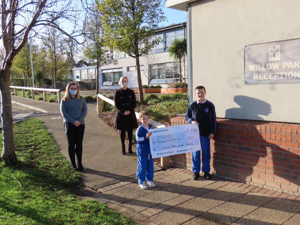 Willow Park Junior School Donation